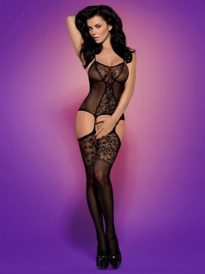 1 Bodystocking F211 black