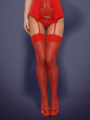 1 S800 pończochy czerwony