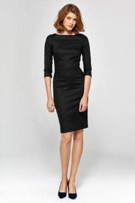Sukienka cs19 - czarny - CS19