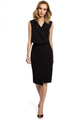 M395 Sukienka - czarna