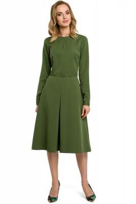 M398 Sukienka - zielona