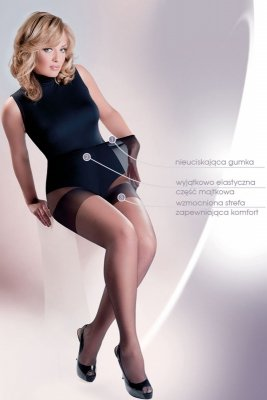 Gabriella Xenia code 165 rajstopy Plus Size 15 den