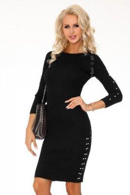 Joandri Black FZ1743 sukienka