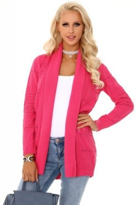 Mariella fuksja sweter