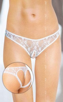 1 Thongs 2457 - white PROMO