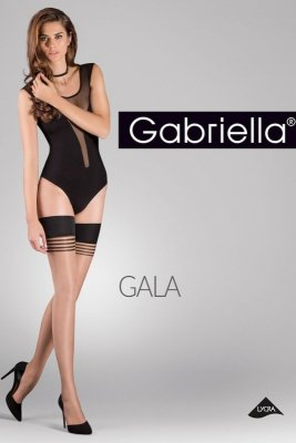 Gabriella Gala code 628 pończochy 20 den bezpalcowe