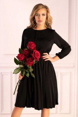 Messina Black D40 sukienka