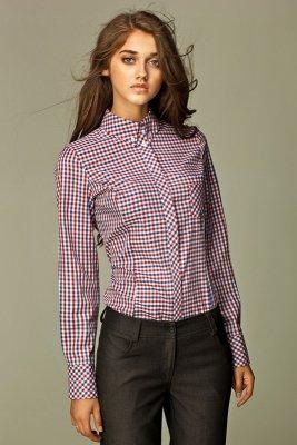 Damska koszula w kratę - K37