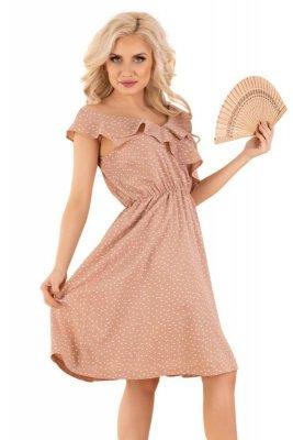 Violayam Beige D91 sukienka