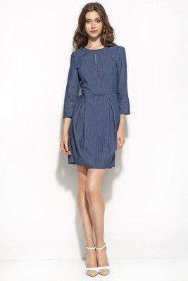 Jeansowa sukienka TULIPAN HIT - S59