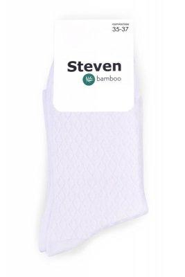 Steven 125-008 skarpetki bezuciskowe bambusowe