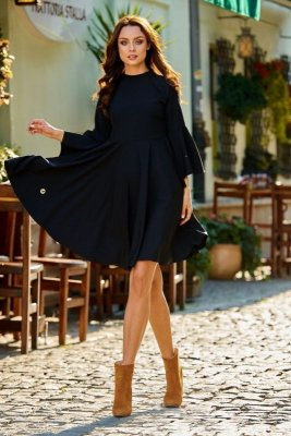 1 Sukienka  L277 czarny PROMO