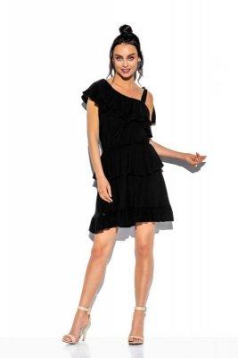1 Sukienka L336 czarna PROMO