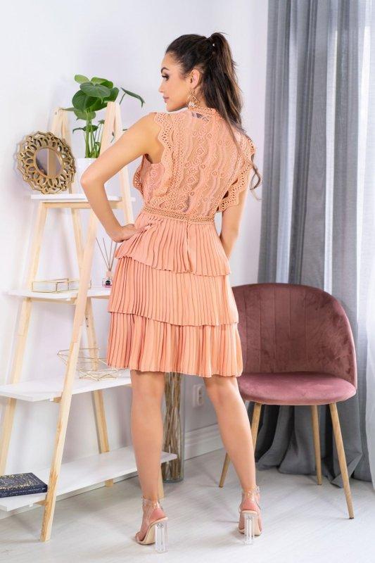 Estina Peach 0316 sukienka