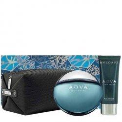 Bvlgari Aqua pour Homme Zestaw - EDT 100 ml + ASB 100 ml + kosmetyczka