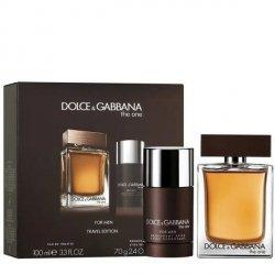 Dolce & Gabbana The One for Men Zestaw - EDT 100 ml + DST 70 g
