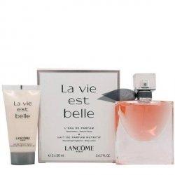 Lancome La Vie est Belle Zestaw - EDP 50 ml + BL 50 ml