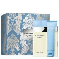 Dolce & Gabbana Light Blue Zestaw - EDT 100 ml  + EDT 10 ml + BC 50 ml