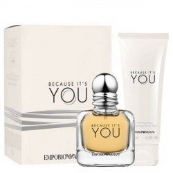 Emporio Armani Because It's You Zestaw - EDP 50 ml + BL 75 ml