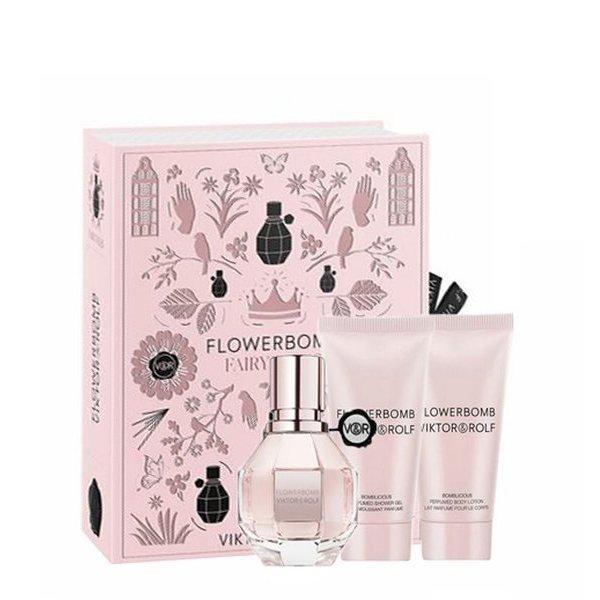 Viktor & Rolf Flowerbom Set - Eau de Parfum 30 ml + Perfumed Body Cream 50 ml + Perfumed Shower Gel 50 ml