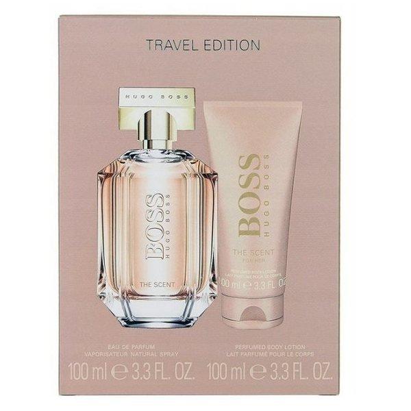 Hugo Boss The Scent for Her Set - Eau de Parfum 100 ml + Body Lotion 100 ml