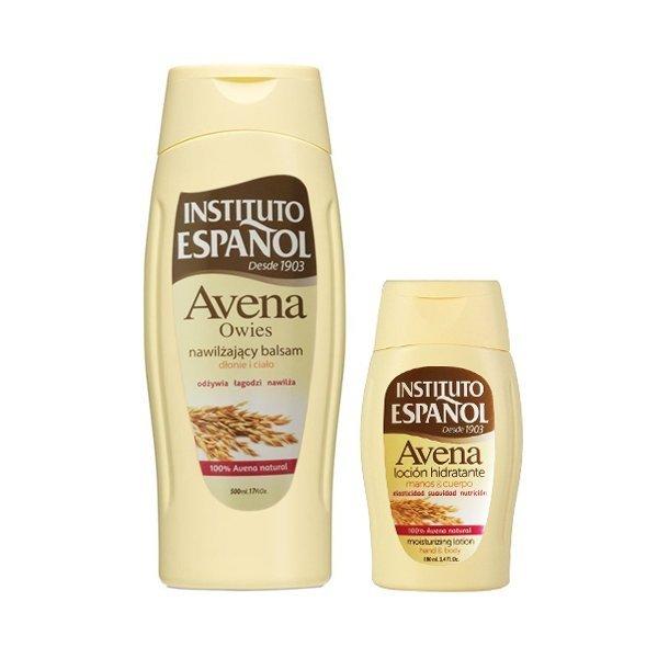 Instituto Espanol Avena Oats Moisturizing Milk 500 ml + 100 ml