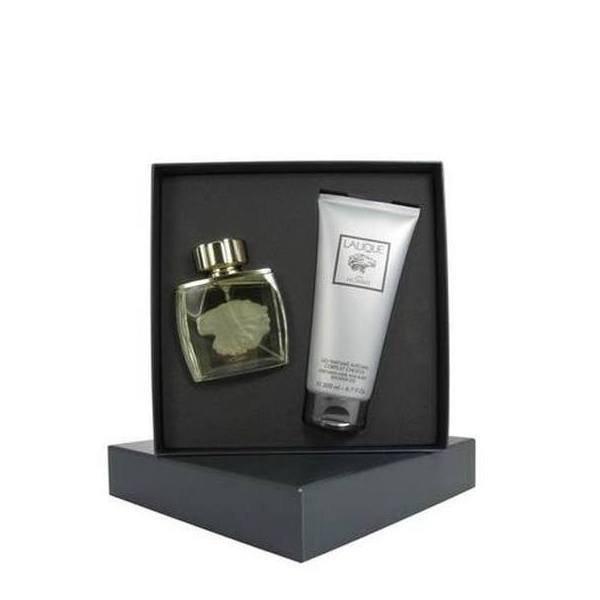 Lalique Pour Homme Lion Set - EDP 75 ml + SG 200 ml