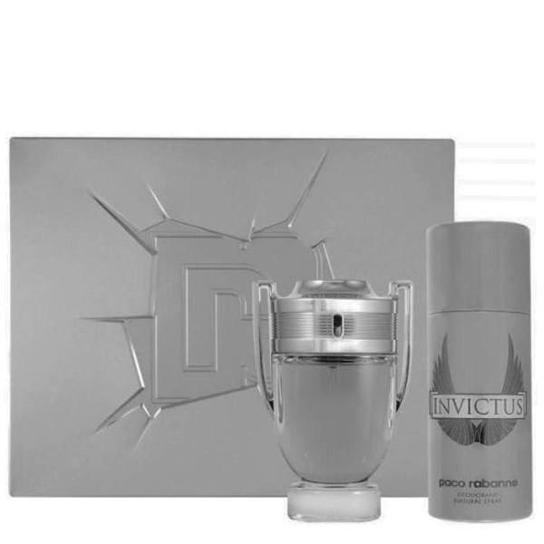 Paco Rabanne Invictus Set - Eau de Toilette 100 ml +  Deodorant Spray 150 ml