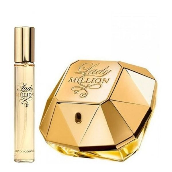 Paco Rabanne Lady Million Set - Eau de Parfum 80 ml + Eau de Parfum 20 ml