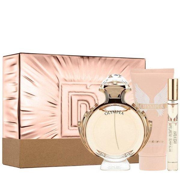 Paco Rabanne Olympéa Set - Eau de Parfum 80 ml + Eau de Parfum 10 ml + Body Lotion 100 ml