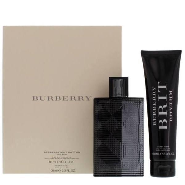 Burberry Brit Rhythm for Him Set - EDT 90 ml + SG 100 ml