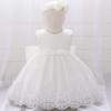 Sukienka + opaska chrzest Laura