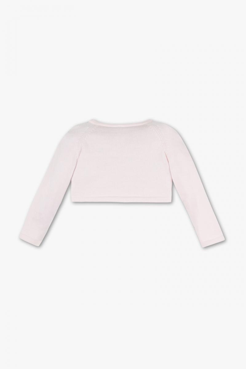 Bolerko sweterek różowe