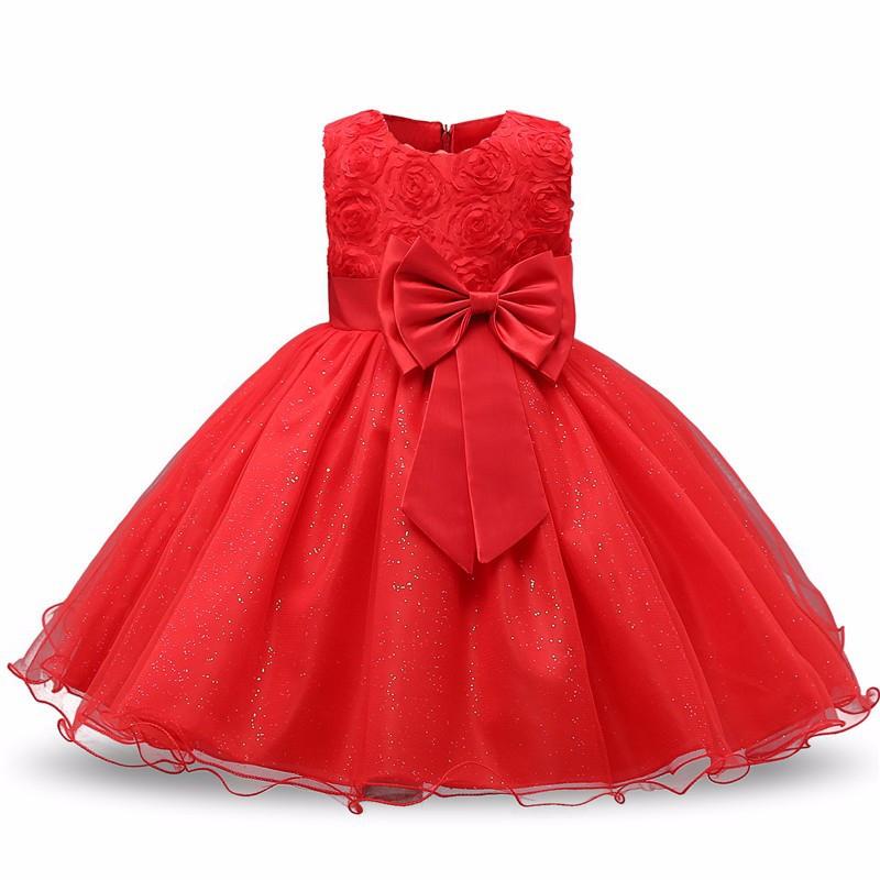 Sukienka Anna czerwona 3D