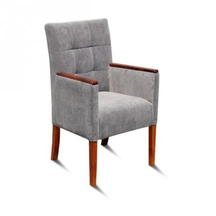 Armchair MA-98 ST Wood |98cm| Quilted Squares