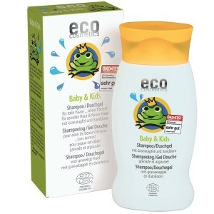 Eco Cosmetics Szampon / Żel pod prysznic dla dzieci i niemowląt 200 ml