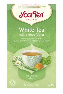 Yogi Tea Herbata biała z aloesem WHITE TEA WITH ALOE VERA