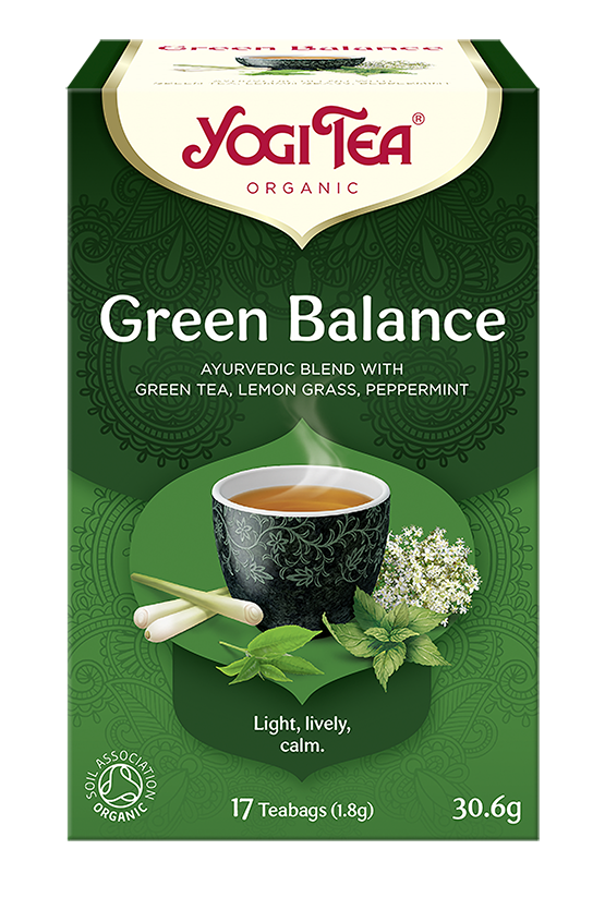 Yogi Tea Zielona harmonia GREEN BALANCE