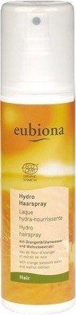 Eubiona Nawilżający lakier do włosów z wyciągiem z pomarańczy i orzecha włoskiego 200 ml