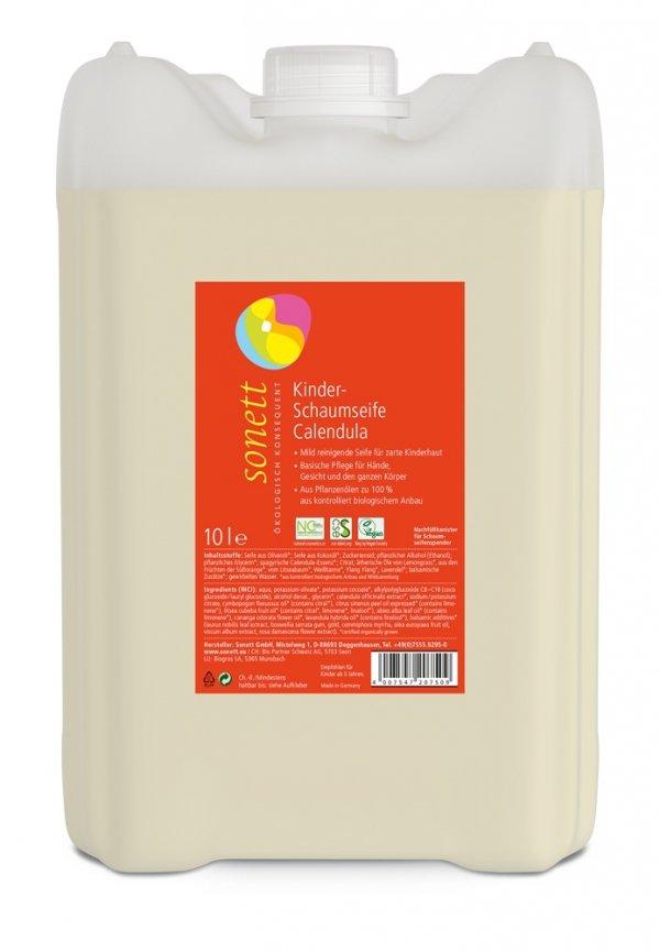 Sonett Mydło w piance dla dzieci NAGIETEK - opakowanie uzupełniające 10 litrów