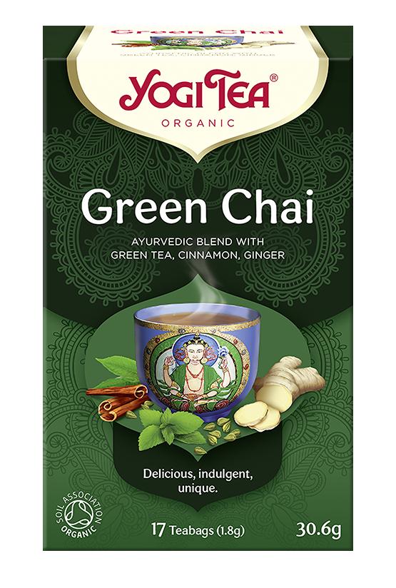 Yogi Tea Zielony czaj GREEN CHAI