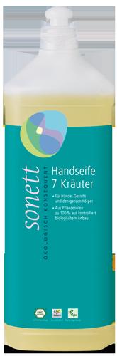 Sonett Mydło w płynie SIEDEM ZIÓŁ - opakowanie uzupełniające 1 litr