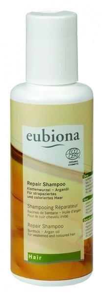 Eubiona Szampon regenerujący z łopianem i olejem arganowym 200 ml