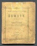 Łonicki Władysław - Zemsty. Poemat oryginalny.