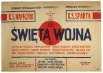Flisak Jerzy - Święta wojna - plakat filmowy
