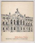Jankowerny Wojciech - Bibliotheca Patria. Biblioteka Narodowa w Warszawie.