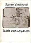 Czarkowski Ryszard - Zakola wojennej pamięci