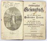 NEUESHirschbergisches Gesangbuch, welches aus 1500 alten und neuen Geistreichen Liedern besteht und nach welchem die Lieder bey dem öffentlichen Gottesdienste in der Evangelischen Kirche vor Hirschberg an den Nummertafeln bemerkt werden