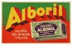 ALBORIL, mydło do prania i mycia. [nie przed 1926, 193-?]. Mini-plakat reklamowy nieznanego autorstwa