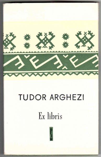Arghezi Tudor (właśc. Ion Teodorescu) - Ex libris.